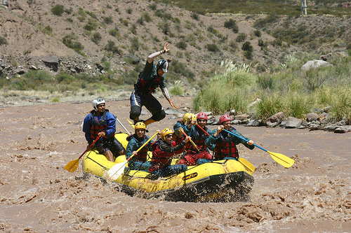 rafting argentine