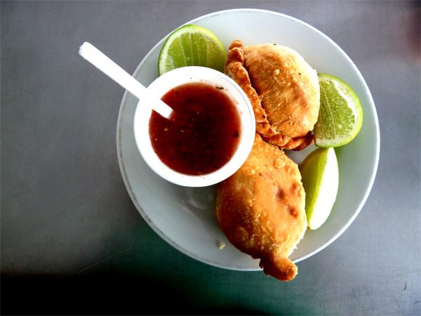 Empanadas en Colombie